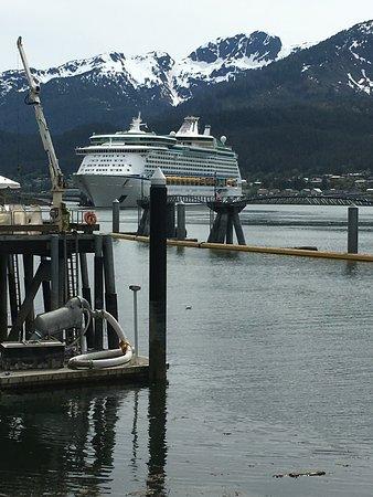 Explorer of the Seas: Explorer OTS in Juneau Port