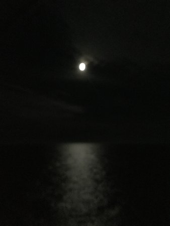 Explorer of the Seas: Moon over the Pacific