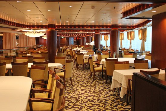 Radiance of the Seas: Cascades Dining Room