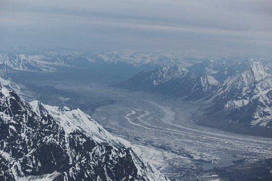 Radiance of the Seas: Glacier seen flightseeing in Talkeetna