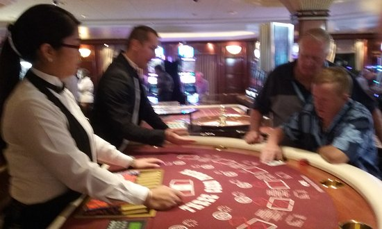 Golden Princess: learning in casino