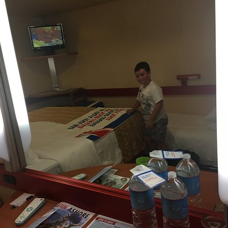 Carnival Fantasy: Built for two, not three