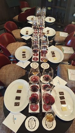Norwegian Dawn: From the wine and chocolate pairing we attended