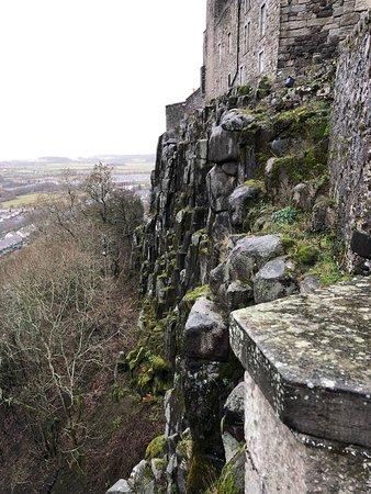 Lateral del Castillo de Stirling