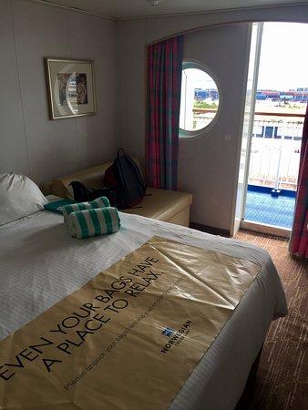 Norwegian Sky: Mid-ship balcony starboard 0239