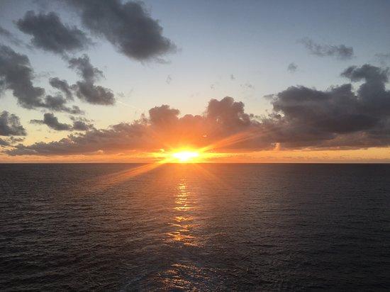 Majesty of the Seas: Sunrise