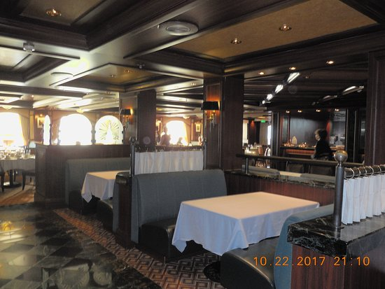 Grand Princess: Crowne Grill (steak house)
