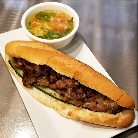 Grilled Pork Banh Mi - Picture of Pike