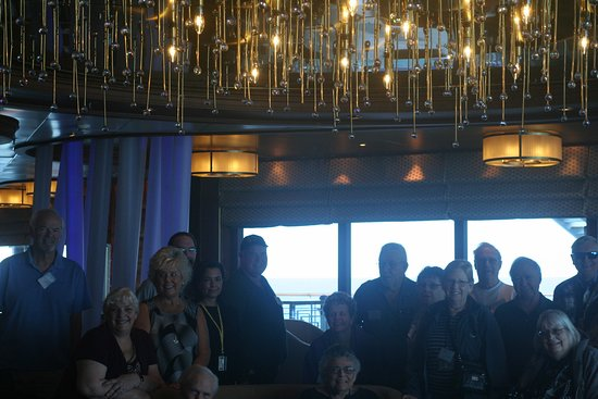 Grand Princess: Meet and Greet at the One5 club.