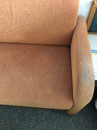 Majesty of the Seas: Couch arm. No words needed