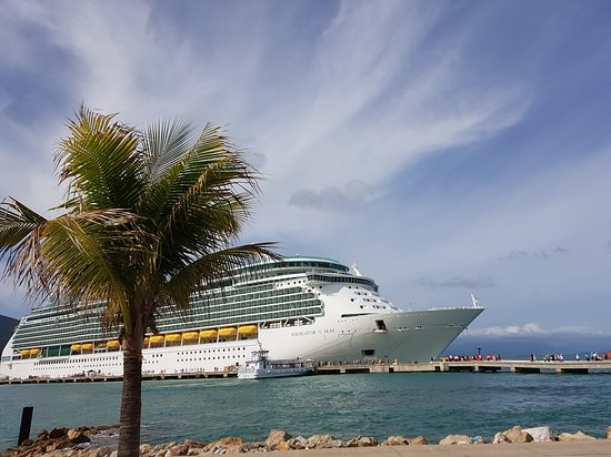 Navigator of the Seas: Navigator docked in Labadee
