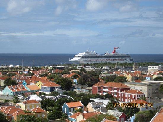 Carnival Conquest: Picturesque Curacao w/ Conquest