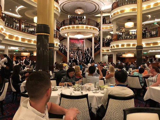 Adventure of the Seas: The Sapphire Dining Room