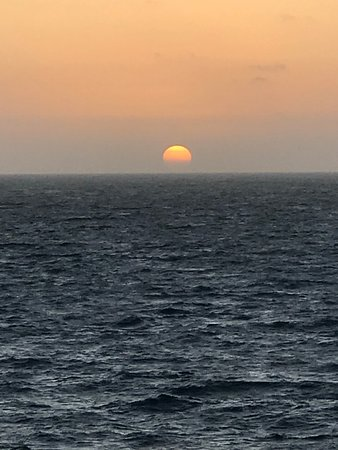 Brilliance of the Seas: Our second sunset on the water.