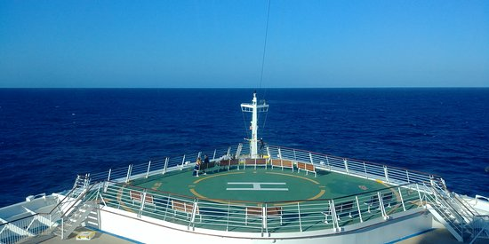 Navigator of the Seas: View from the window of stateroom 7500