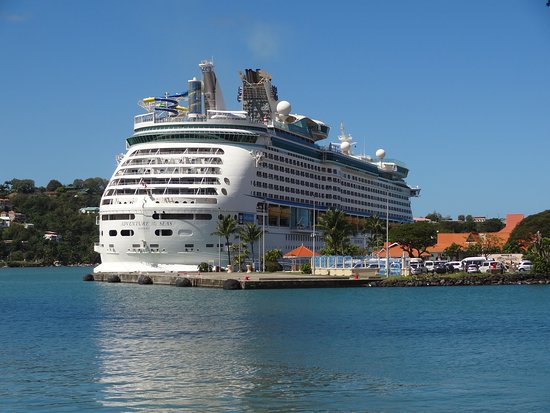 Adventure of the Seas: Port of St Lucia.