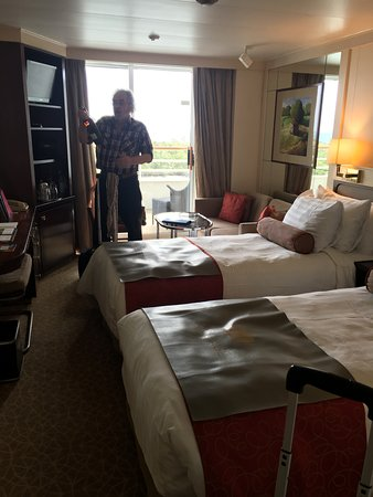 Prinsendam: Cabin 113...bed will be made into one big bed