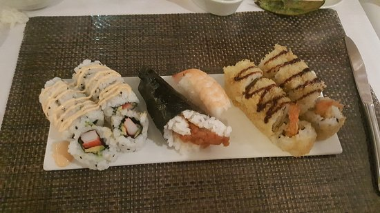 Majesty of the Seas: Sushi class results.