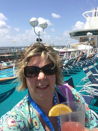 Majesty of the Seas: First BBC (Bailey , banana crepe Colada)