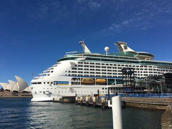 Explorer of the Seas: EOTS at Circular Quay, Sydney