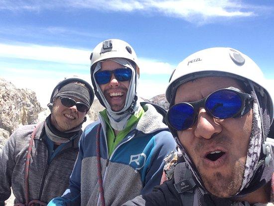 Canyon di Colca, Perù: Cumbre de la pirámide hualca hualca