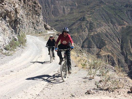 Canyon di Colca, Perù: Biking tour dentro del cañón del colca