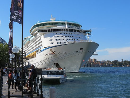 Explorer of the Seas: Ship in Sydney Harbour