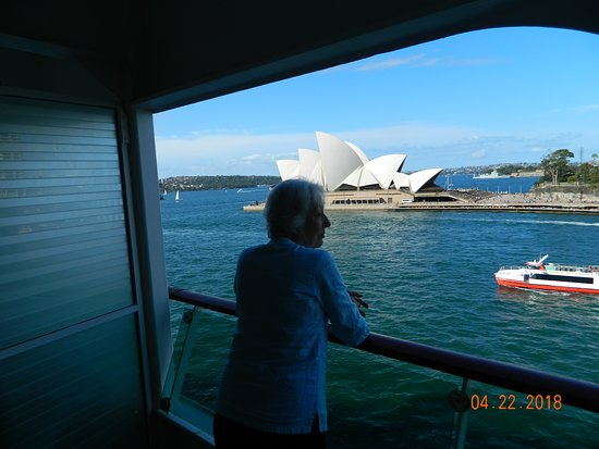 Explorer of the Seas: Opera House from cabin