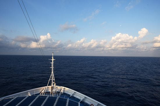 Carnival Victory: A beautiful start to the day at sea.