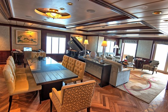 Celebrity Summit: Another view of the main living area.