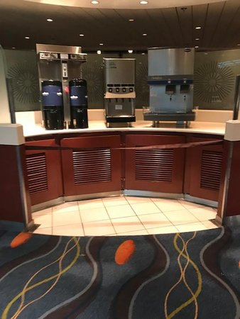 Celebrity Summit: Water stations closed- this is 1 of 3 that were closed!
