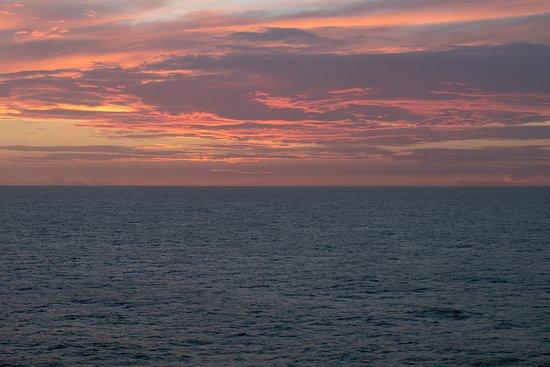 Norwegian Dawn: Sunset!