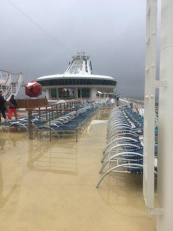Navigator of the Seas: Top deck