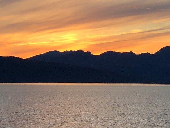 Golden Princess: Awesome sunset