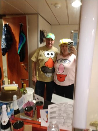 Carnival Fascination: Our costumes