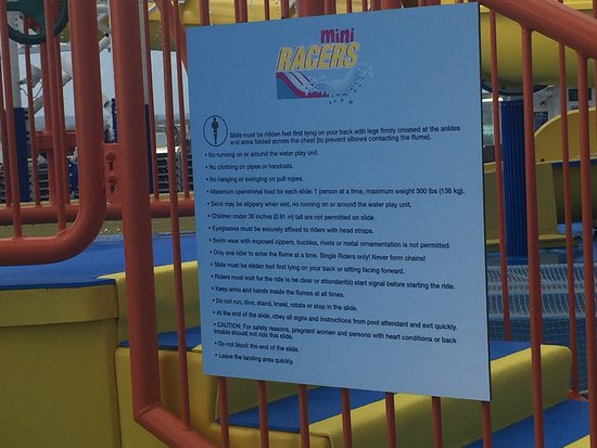 Carnival Fascination: The recreation team has no idea what their own rules are and kicked me off