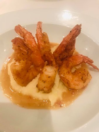 Brilliance of the Seas: Shrimp dish at Chops Grille.