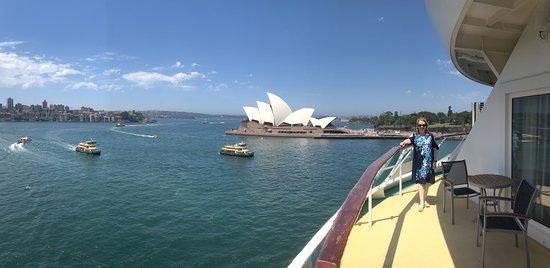 Radiance of the Seas: Junior Suite 1100...huge balcony!