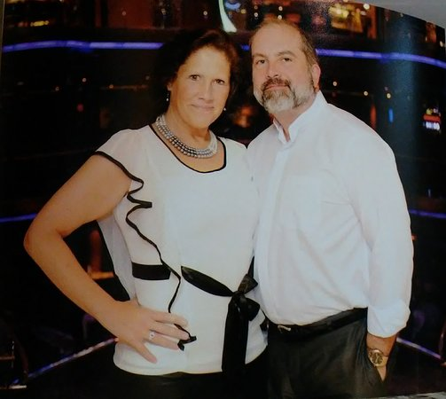 Grandeur of the Seas: A picture that was taken right before the evening show in the theater.
