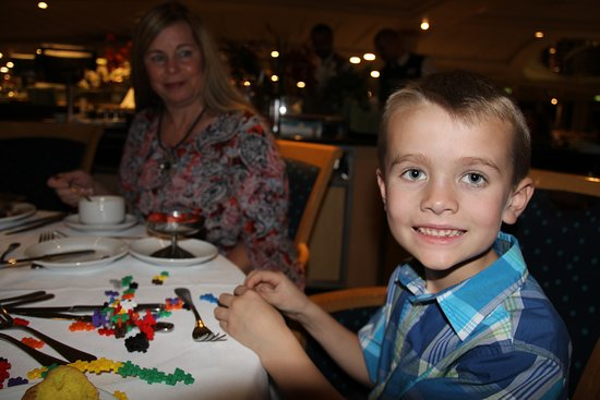 Vision of the Seas: Helpful tip - bring fun, quiet new toys or activities for little