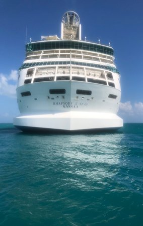 Rhapsody of the Seas: The ship is beautiful, but is getting old.