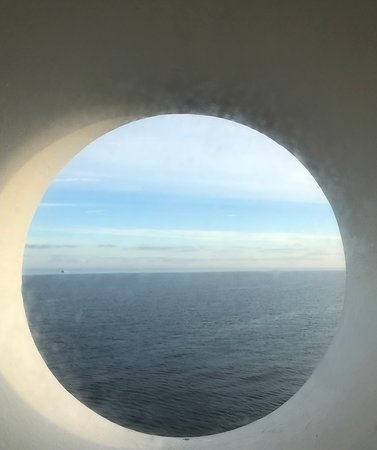 Carnival Inspiration: View from the porthole