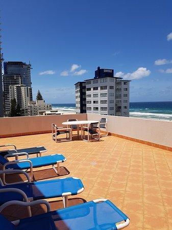Unit 23 - Huge private top floor balcony
