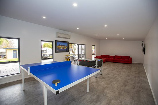 Our Games Room is large enough for all sorts of fun and play
