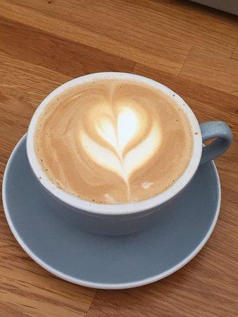 A wonderful coffee served