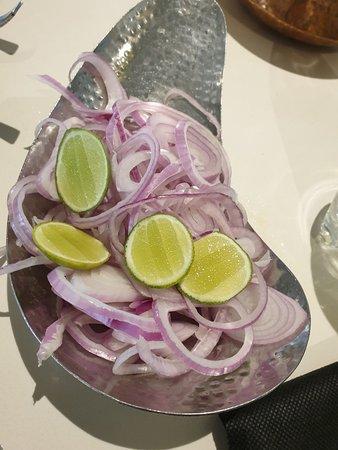 Tansen: Onion Salad