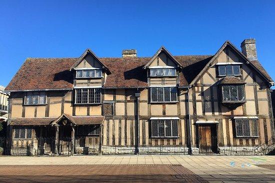 牛津,沃里克城堡和伦敦的埃文河畔斯特拉特福一日游