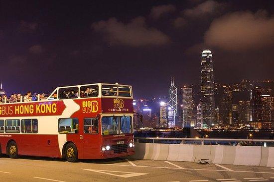 Visite nocturne de Hong Kong en Big...