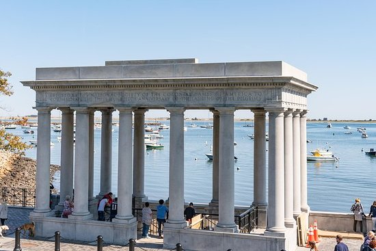 Boston til Cape Cod med Plymouth Rock...
