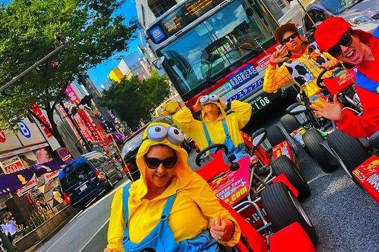 Tour de Kart oficial na rua - Okinawa...
